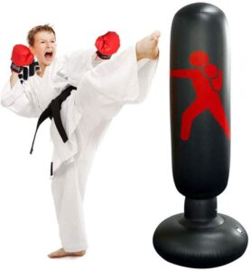 xivqiuny Inflatable Fitness Punching Bag